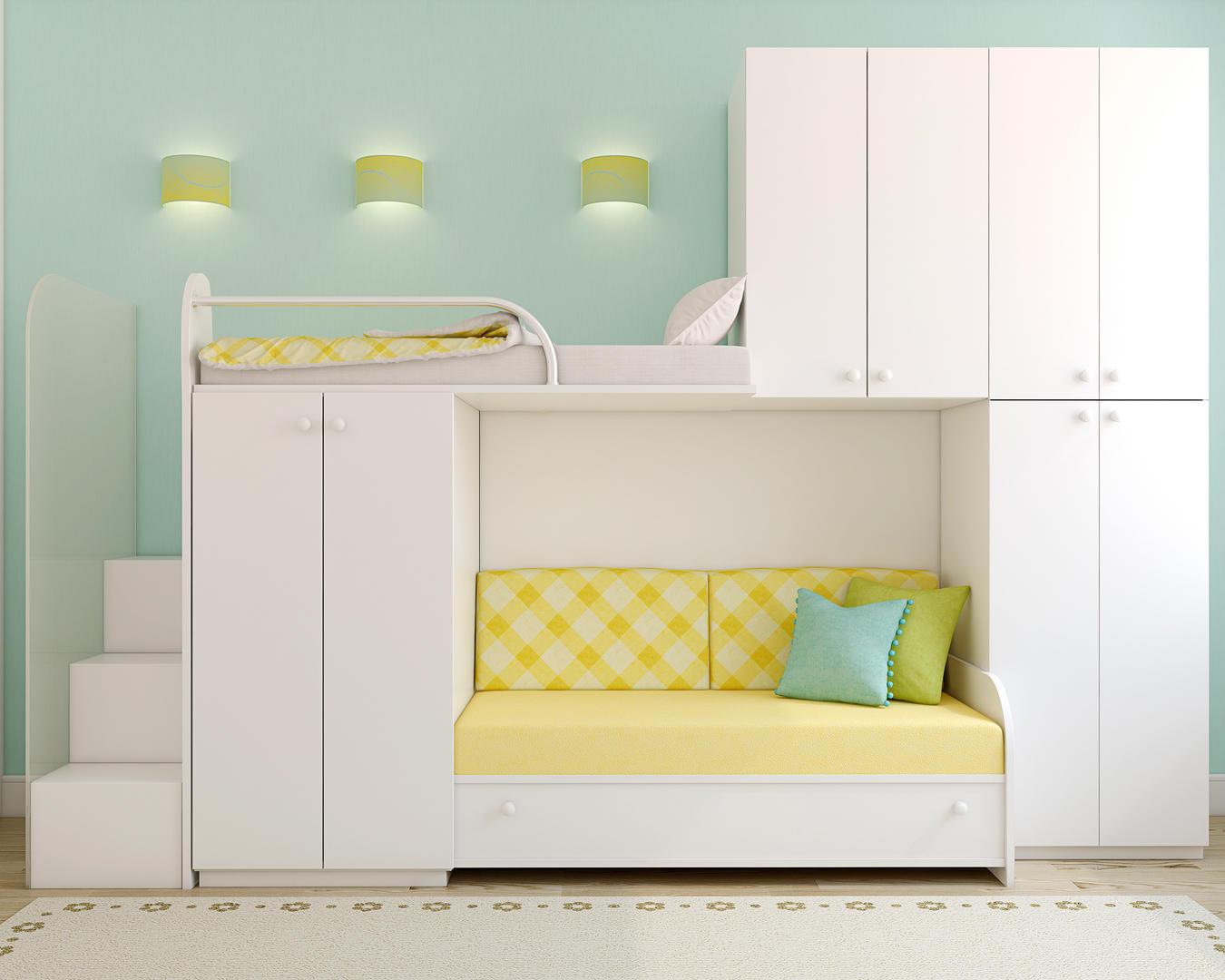 Stauraum Für Spielsachen, Freiraum Zum Toben Und Spielen, Arbeitsraum Für  Hobby Und Hausaufgaben U2013 Ein Kinderzimmer Hat Viele Anforderungen Zu  Erfüllen.