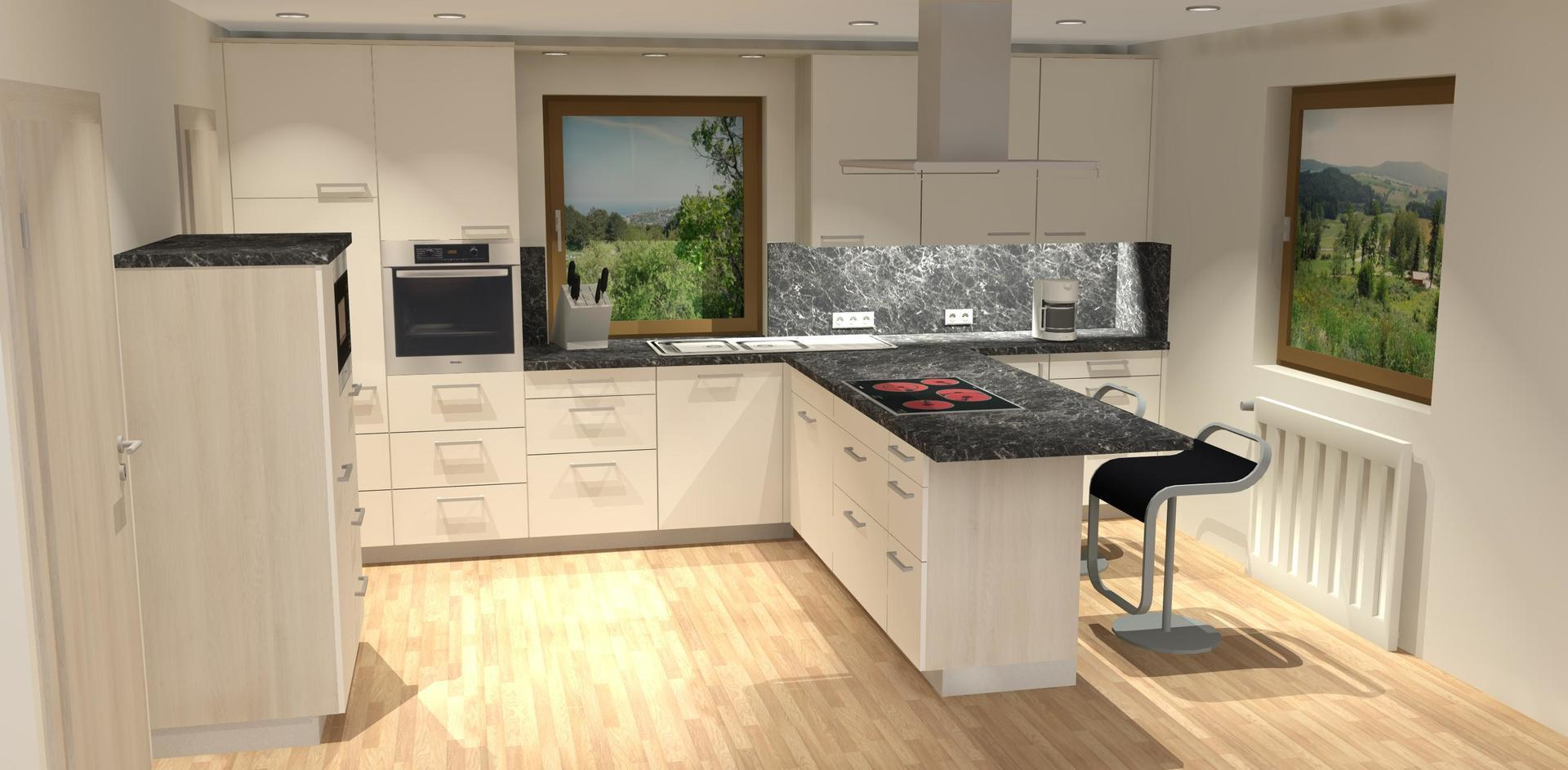 Küche - Wohnwelten  Nordic Design Tischlerei GmbH - Greifswald