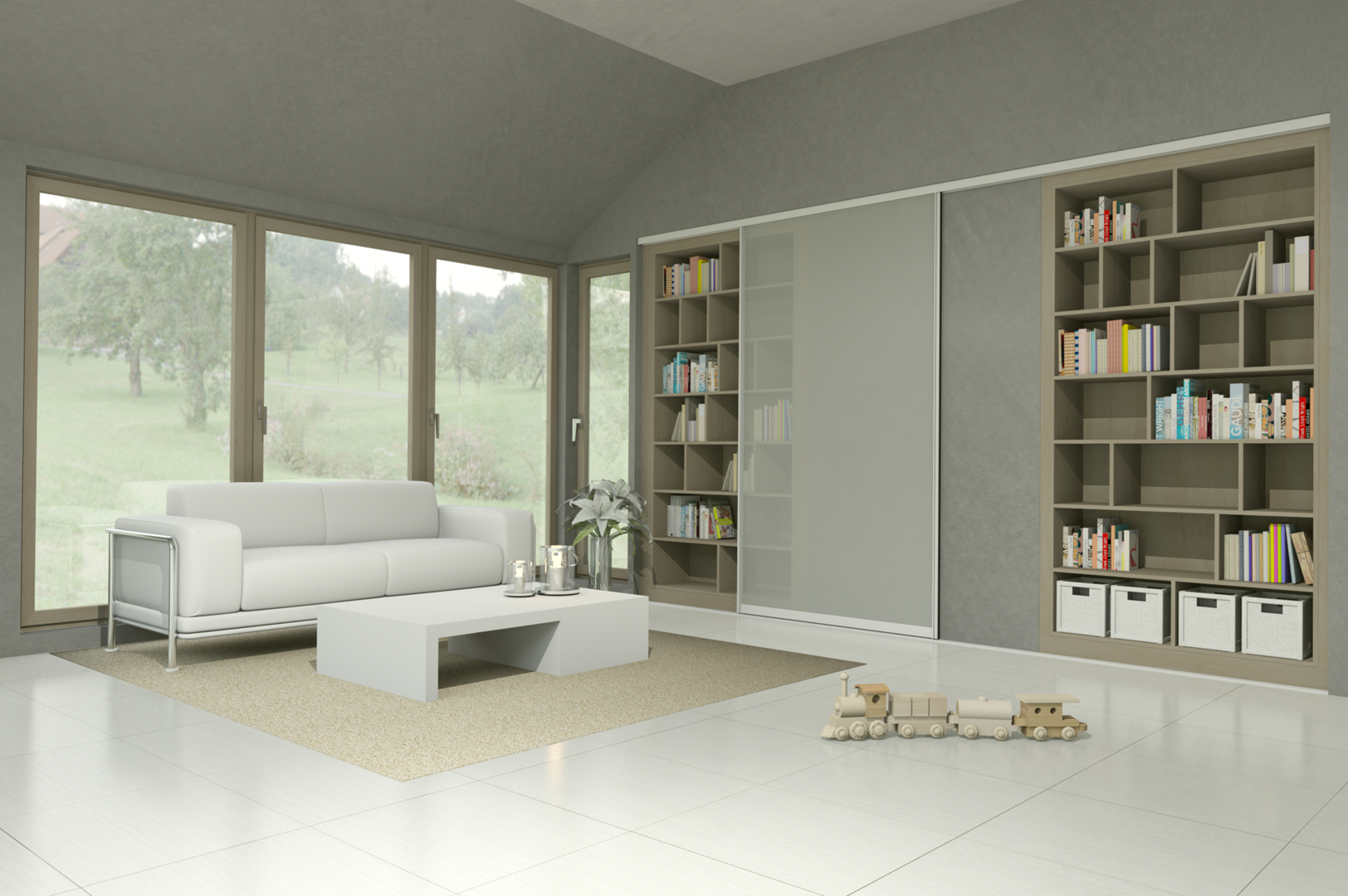 Wohnzimmer - Wohnwelten | Nordic Design Tischlerei GmbH - Greifswald